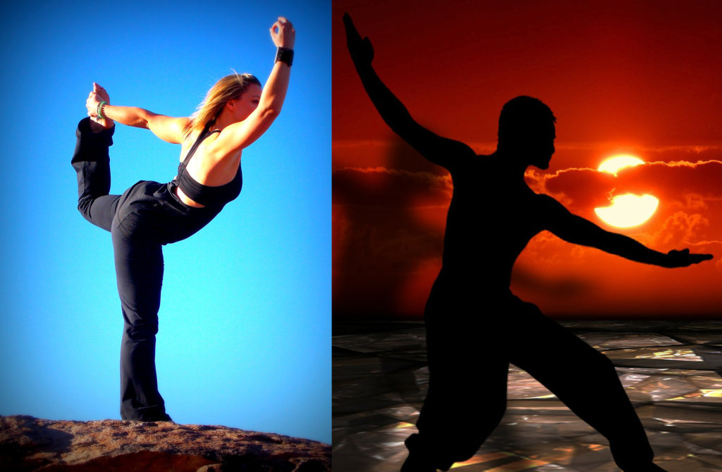 yoga vs. tai chi
